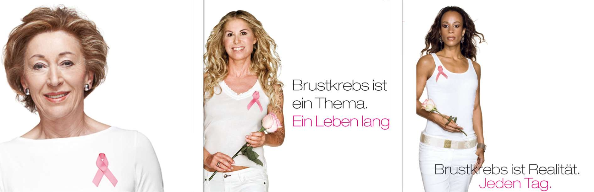 Brustkrebs-Kampagne